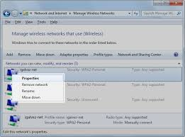 resetting wifi password change the password windows 7 has stored for a wireless network