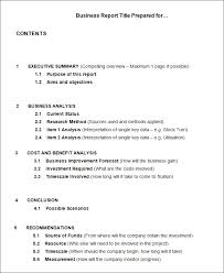 what is a report template business report template templates data