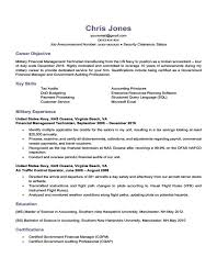 Military To Civilian Resume Templates Military To Civilian Resume Template Best 25 Objective Examples