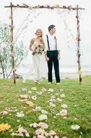 wedding arches coast bohemian wedding styled ceremony the s tree