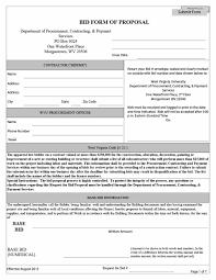construction bid proposal template corpedo com