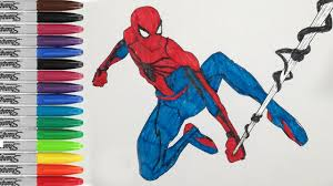 spiderman coloring pages spiderman ben reily fun pages sailany