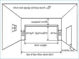 size of a 3 car garage typical two car garage door dimensions wageuzi good average 3 car
