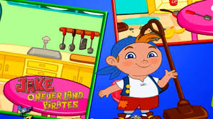 jake and the neverland pirates room cleaning fun game for kids