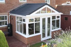 tiled solid conservatory roof crendon conservatories modern