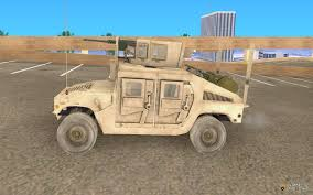 h1 military hummer humvee for gta san andreas
