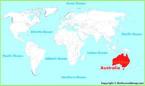 Austrailia Map Australia Map Queensland Amazing Map World Brisbane Evenakliyat Biz