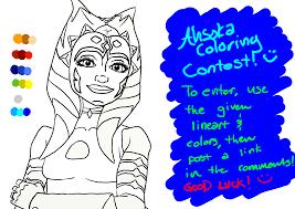 100 ideas ahsoka tano coloring pages on emergingartspdx com