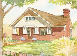 craftsman bungalow cottage living southern living house plans