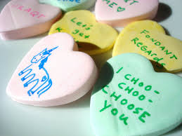 s candy hearts to make conversation hearts at home