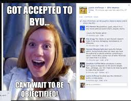 Byu Memes - gender flame war s byu memes and the f word feminism young