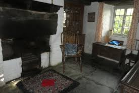 the old post office medieval hall house tintagel cornwall