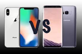 Iphone X Apple Iphone X Vs Samsung Galaxy S8 Pistols At For The
