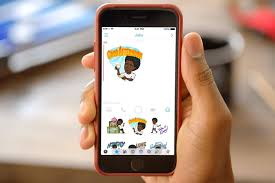 how to create personalised bitmoji on snapchat and use stickers on