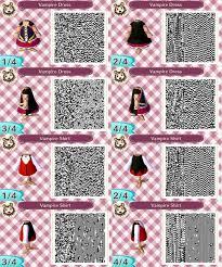 acnl hair qr codes acnl vire outfit qr codes by acnl qr codez on deviantart