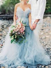 blue wedding dress 35 trendy and blue wedding gowns weddingomania