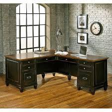 L Shape Executive Desk Kathy Ireland Home By Martin Furniture Hartford L Shape Executive