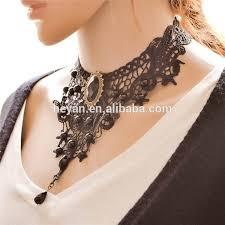 choker necklace black lace images Black lace necklace lace choker necklace gothic jewellery gothic jpg