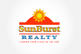 branding logo design sunburst realty foi designs
