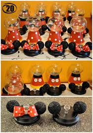 diy mickey and minnie mouse gumball machines u2013 sweets and life