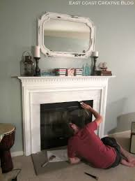 home decor top painting fireplace tile artistic color decor