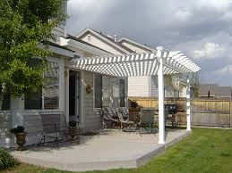 vinyl pergola kit crafts home
