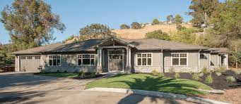 a newly constructed home in lafayette ca featuring a rare single