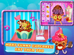 Decorate Your Own Cupcake Cupcake Crazy Chef Tabtale