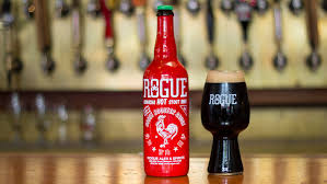sriracha bottle cap rogue sriracha stout beer mixes iconic sauce with new brew