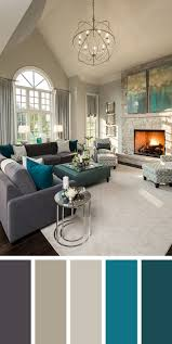 1950s color scheme bright blue living room ideas color designs decorations review