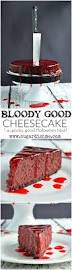 Halloween Chocolate Cake Recipe Check Out Bloody Good Cheesecake It U0027s So Easy To Make Spooky