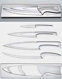 stainless steel kitchen knives set nesting chef s knives scary but clever kitchen cutlery set