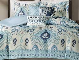 Beach Bedspread Bedding Set Beautiful Blue White Bedding Details About Beautiful