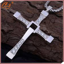 aliexpress cross necklace images Fast and furious necklace man cross necklace man praying holy jpg