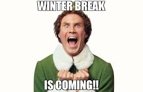 Winter Break Meme - winter break is coming meme buddy the elf 70878 memeshappen
