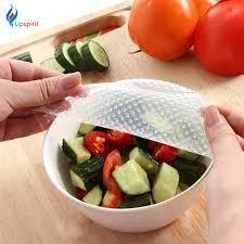 silicone cuisine 4pcs multifunctional food fresh keeping saran wrap kitchen tools
