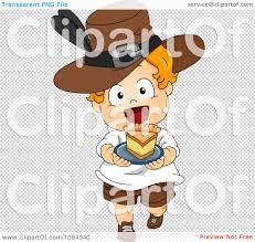 thanksgiving toddler clipart thanksgiving toddler pilgrim carrying a slice of pie