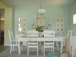 dining room impressive soft blue back distressed dining room