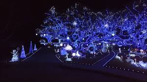 blue christmas lights abc s winner the great christmas light fight blue blue