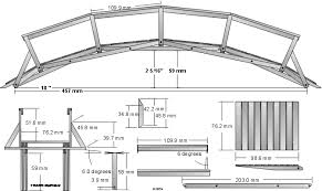 Wooden Bridge Plans | scale model a very versatile and scaleable bridge design for spans