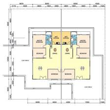 single storey semi detached house floor plan semi detached home plans awesome wonderful single storey semi