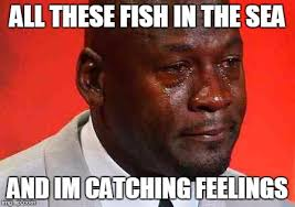 Catching Feelings Meme - crying michael jordan imgflip