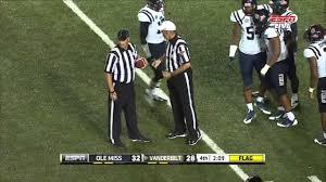 Vanderbilt Flag Vanderbilt Player With Possible Concussion Returns To Game After