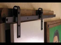 How To Build Barn Doors Sliding Barn Door Hardware Diy Sliding Barn Door Hardware Youtube