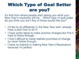 new year s setters be successful with your new year s resolution planning