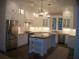 Custom Contemporary Kitchen Cabinets Kitchen Room Contemporary Kitchen With High Ceilings Light Wood