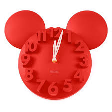 Design Clock by Amazon Com Onegood Modern Design Mickey Mouse Big Digit 3d Wall