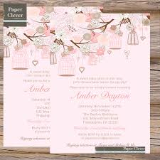 create own shabby chic baby shower invitations free templates