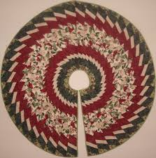 Peppermint Twist Tree Skirt Using Tree Skirt Using Wedge Ruler Tree Skirts