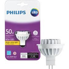 Philips Landscape Light Bulbs by Philips Mr16 Gu5 3 Led Floodlight Light Bulb 461509 Do It Best